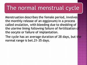 Physiology of menstruation - ppt video online download