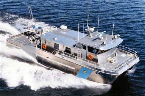 Fast Catamaran Fishing Boats by Cd408e 20m Catamaran Fisheries Patrol Boat