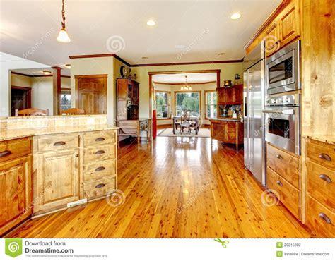 int 233 rieur 224 la maison de luxe en bois de cuisine maison neuve d am 233 ricain de ferme
