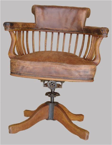 fauteuil de bureau ancien en bois table de lit