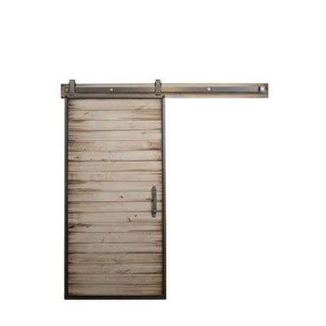 barn door home depot rustica hardware 42 in x 84 in mountain modern white