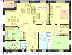 Grundriss Bungalow 100 Qm : grundriss bungalow 120 qm wohnideen ~ Markanthonyermac.com Haus und Dekorationen