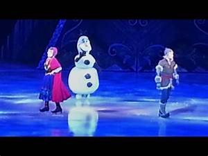 First ever Olaf appearance, meets Anna, Kristoff, Sven in ...