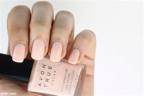Avon True Color Polishes In Lilac Love, Perfect Pink