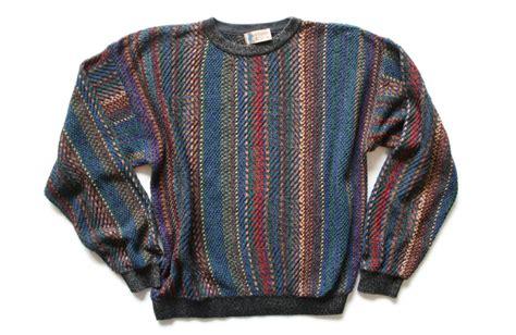 Mens Multi Colored Sweater