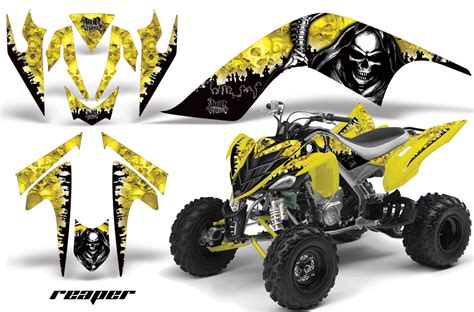 yamaha raptor 700 atv graphic kit fits yamaha raptor 700 2006 2012 many designs to select