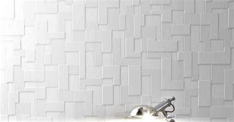 papier peint salle de bain castorama