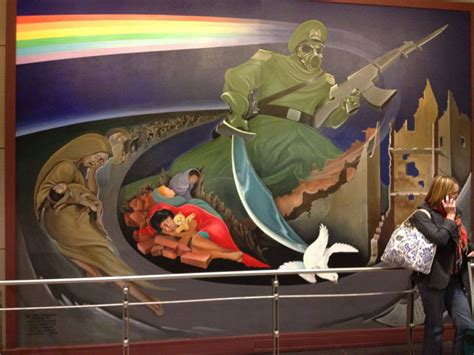 denver international airport bunker are the murals a conspiracy thechive