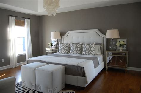 Gray Bedroom-contemporary-bedroom-benjamin Moore