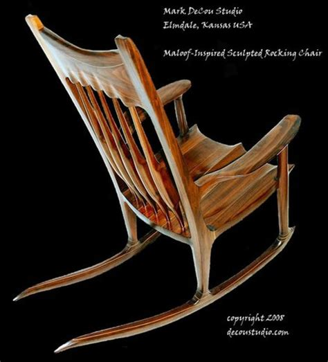 rocking chair plans maloof woodideas