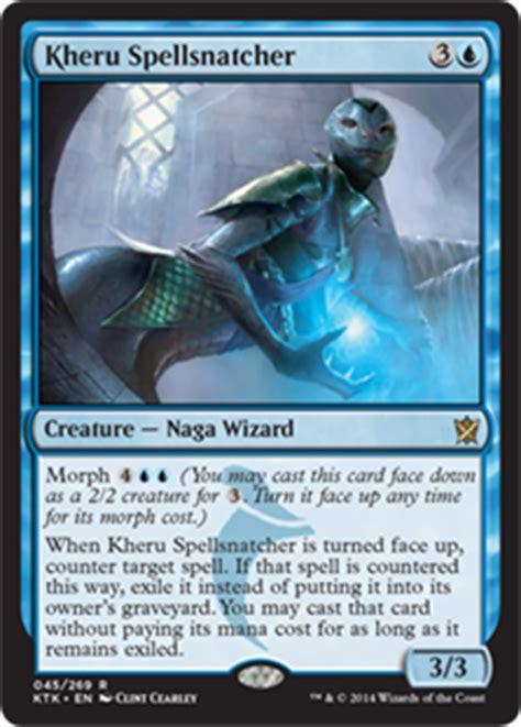 tabletop review magic the gathering morph cards from khans of tarkir diehard gamefan