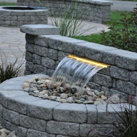 cascade et fontaine de jardin 69 d 233 co pour les moments de relaxe