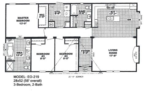 wide mobile home floor plans also 4 bedroom interalle