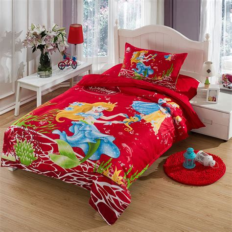 mermaid princess comforters and quilts bed sheets designer comforter sets bed linen
