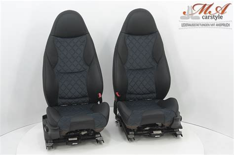 Leather Upholstery Kit For Sport Seats [bmw Z3] Black-gray