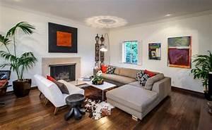 Dunkler Boden Weiße Sockelleisten : farbgestaltung wohnzimmer interieurgestaltung ~ Markanthonyermac.com Haus und Dekorationen