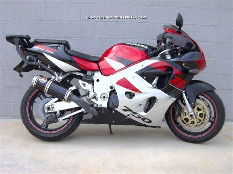 echappement moto suzuki gsx r 750