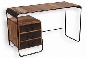 Möbel Sekretär Modern : industrial chic schreibtisch sekret r aus massivholz ~ Markanthonyermac.com Haus und Dekorationen