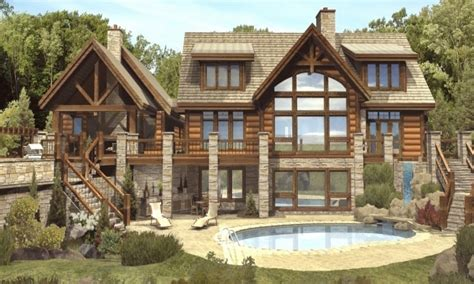 Luxury Log Cabin Home Plans 10 Most Beautiful Log Homes European Mattress Companies And Box Spring In One Full Xl Pad Linenspa Protector King Pillow Top Size Of Baby Bed Down Filled Topper What Is
