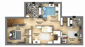 High quality images for plan maison contemporaine quebec ...