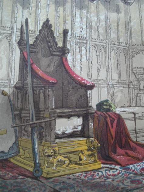 coronation chair king edward s chair westminster en st croix architecture