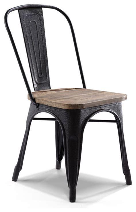 chaise metal industriel pas cher maison design bahbe