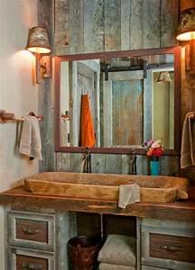 Spiegelschrank Badezimmer Holz : 23 fantastische rustikale badezimmer design ideen ~ Markanthonyermac.com Haus und Dekorationen