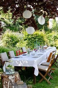 Deko Gartenparty Geburtstag : deko f r die gartenparty mit lampions im sommer wenn jetzt sommer w r pinterest ~ Markanthonyermac.com Haus und Dekorationen