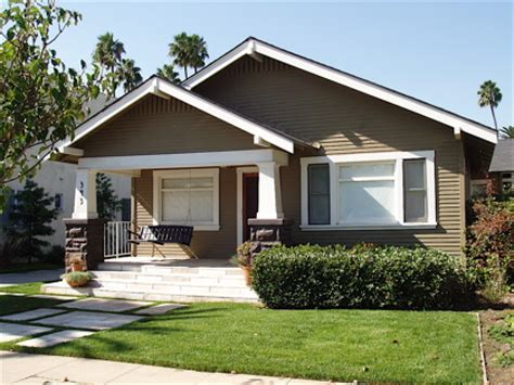 California Craftsman Bungalow Style Homes Oldstyle