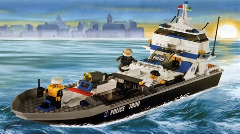 Lego City Police Boat Instructions by Lego 7899 Police Boat City Police Instruction Booklet