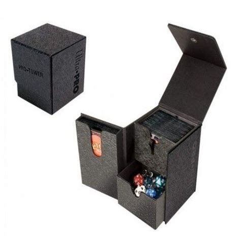 ultra pro pro tower magnetic deck box up84023 ultra pro supplies supplies