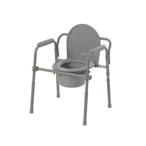 handicap portable toilet elderly seat bedside folding potty commode chai ebay