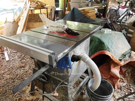 Time For Dust Collection On The Table Saw