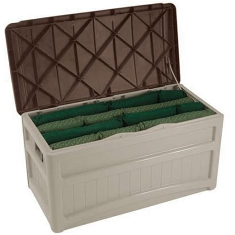 suncast 73 gallon deck box with wheels walmart