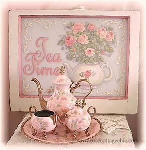 Shabby Chic Geschirr : pastel pink shabby tea set love that sign too altes geschir pinterest tee teekanne ~ Markanthonyermac.com Haus und Dekorationen