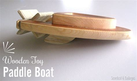 Easy Toy Boat by How To Make A Wooden Toy Boat Easy Tutorial Reality
