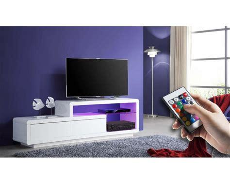 les concepteurs artistiques meuble tele blanc laque conforama