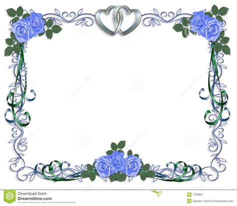 cadre d invitation de mariage image stock image 7784901