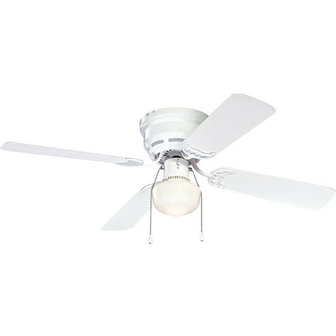 mainstays 42 quot ceiling fan with light kit white walmart