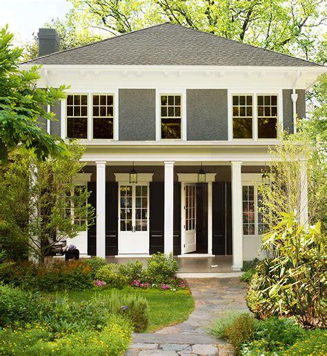 pretty modern american foursquare house plans modern house