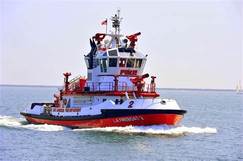 Vancouver Fire Boat 1 by Los Angeles Fire Boat No 2 The Warner L Lawrence