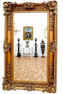 Barock Spiegel Groß : wandspiegel barock rahmen antik gold superlative goldener spiegel gro ~ Whattoseeinmadrid.com Haus und Dekorationen