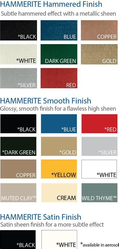 s g bailey paints ltd hammerite colours