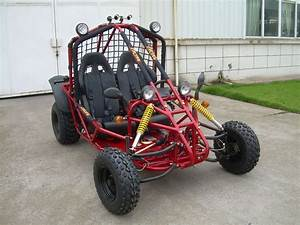 Electric Motor Go Kart 150CC Single Seat Chain Drive with ...