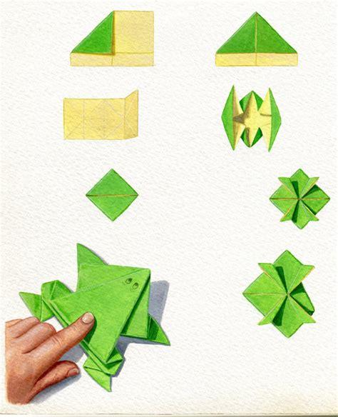 exceptional faire grenouille en papier 14 pliage papier grenouille origami pliage papier