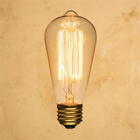 antique light bulbs st64 edison style light bulb squirrel cage vintage