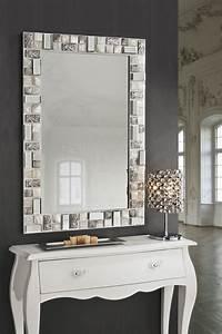 Tischplatte 120x80 Weiß : schuller mosaic spiegel 120x80 wei silber 721925 l mparas de dise o ~ Markanthonyermac.com Haus und Dekorationen
