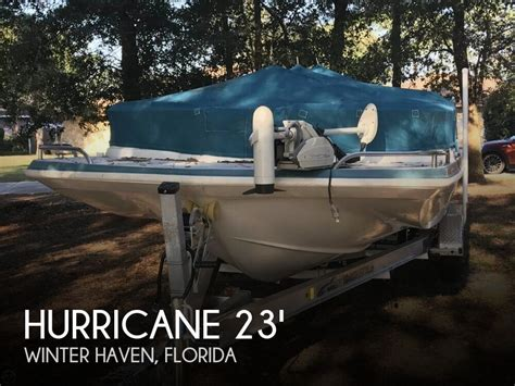 Winter Haven Boat Dealers by For Sale Used 1997 Hurricane 230 Fun Deck In Winter Haven