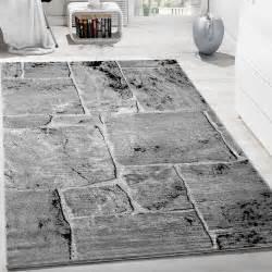 Teppich Wohnzimmer Grau : designer teppich modern trendig meliert steinoptik mauer muster wohnzimmer grau wohn und ~ Markanthonyermac.com Haus und Dekorationen