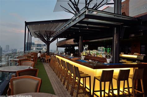 Above Eleven Rooftop Bar & Restaurant Bangkok Asia